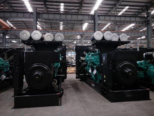 Máy phát điện công nghiệp Cummins