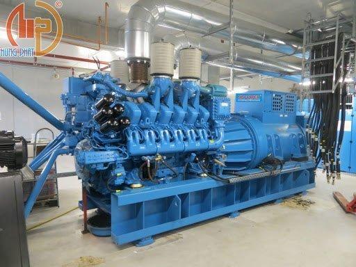 Máy phát điện công nghiệp Mtu