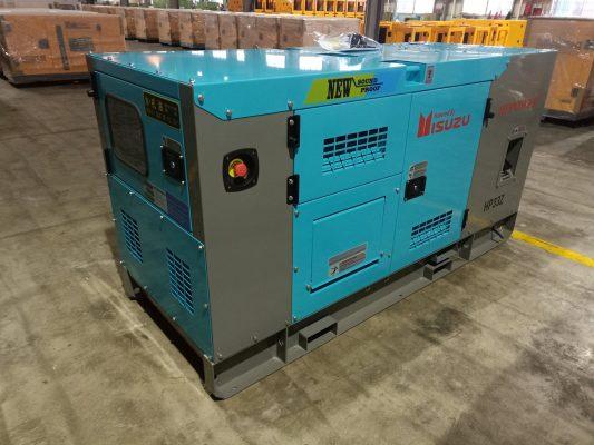Máy phát điện công nghiệp Isuzu
